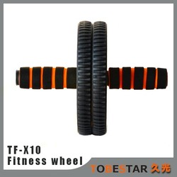 2015 Best workouts Abdominal Exercises crunch twist roller Stomach fitness wheel