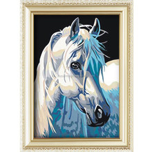 2015 Hot sale popular horse pattern diy paint by numbers chinese painting