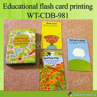 WT-CDB-982 custom game card printing