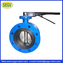 Double Flange Epdm Seat Disc Type Butterfly Valve