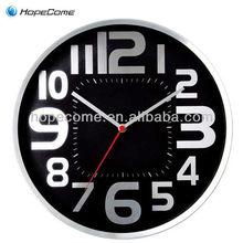 ( m2814x- un) 14 ronda reloj de pared para el regalo promocional reloj de metal
