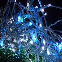 10m 120V Christmas Lights String white Mini led