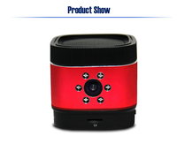 CE certification night vision 24 hours loop recording 140 degree home security monitor built-in camera speaker bluetooth