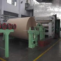 High Return Kraft Paper Making Machine Waste Paper Recycling Plant with High Quality