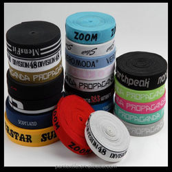 2015 new design 32mm elastic band for boxer with custom logo