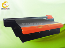 2513 size uv printer for ceramic tile/wood/ PVC / metal/ leather / other hard materials with 3D texture and white printing