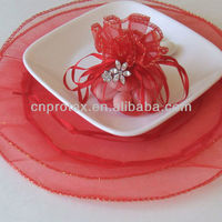 Wedding Organza Circle with Drawstring