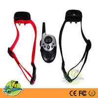 2 Dogs Remote Training Shock and Vibration Collar ,E-623 New Charging of Dog Training Collar