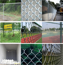 Galvanized /pvc coated chain link fence price/chain link fabric( 15 Years Professional Factory )