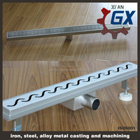 Sidewalk/Road/Workshop Drain Grating Cover/ light duty Trench Cover