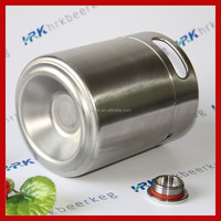 single wall screw cap Cornellius beer kegs size