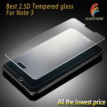 High Clear OEM 0.33mm Anti Shock Logo Branded 0.2mm Explosion-proof For Samsung Galaxy Note 3 Screen Protector