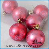 Wholesaler Hot Sale Custom Cheap 2015 Christmas Tree Hanging Decorations Ball Supplies