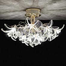 2015 fashion design decoration K9 crystal ceiling lamp