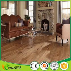 PVC Plank Flooring Looks Like Wood For Residencial House