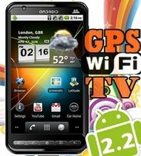 A2000 newest google android tv wifi mobile phone