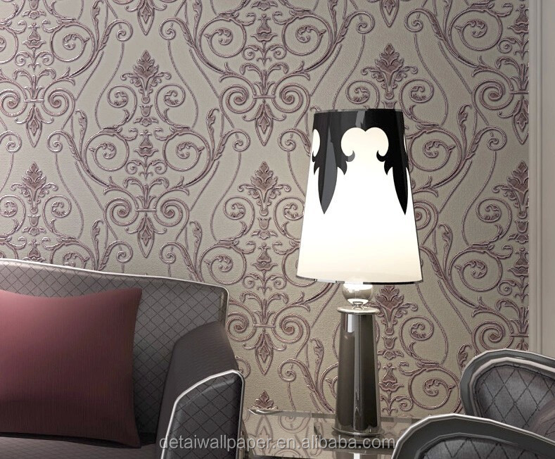 detai vinyl wallpaper waterproof wallpaper for bathrooms