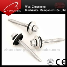 din7504k Self drilling screws with EPDM / rubber washer