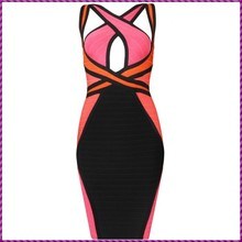 factory wholesale elastic slim party ladies sexy halter bodycon dress frock