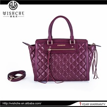 Wishche New Products Custom Made Leather Ladies Bag Exporters India Fashion Woman Fossil Handbag Wholesale Manufacturer W016