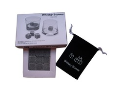 New Whiskey Rock Stone Cube Whisky Ice Cubes/ Whisky Stone/ Whiskey Stone Wine Cooler Heater Stones ROCK
