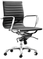 Modern Design Adjustable yellow ergonomic office chair with wheels electroplating iron base