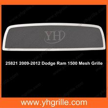 factory made 2009-2012 Main Upper Mesh car Grille for Dodge Ram 1500 from shanxi yinghui company