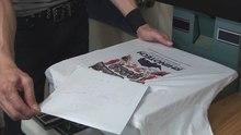 A4 inkjet white t-shirt heat transfer paper/ light white transfer paper