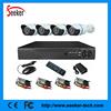 4CH DVR kits 600tvl security ir surveillance camera