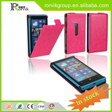 magnetic mobile phone holder case leather with great price for Nokia Lumia 920