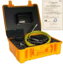sewer pipeline inspection system digital color camera with 12pcs high light leds sapphire glass