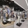 Beauty garment interior design, metal cases for mannequin