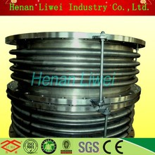 Liwei marchio in acciaio inox soffietto giunto di dilatazione/soffietto compensatore