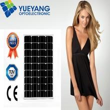 Cheap Price Per 50 Watt Monocrystalline Solar Cell PV Module Solar Panels price India For Sale