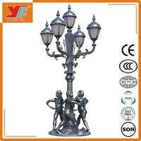 European and American style 25w led garden light