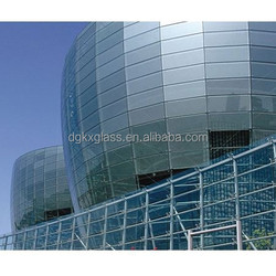 insulating glass exterior glass wall china supplier glass wall decorative panels/glass curtain wall