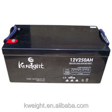 12V 250Ah AGM Rechargeable Deep Cycle Battery ups and energy storage battery