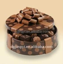 exquisite eco-friendly paper cake box/handmade paper chocolate box