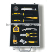 15pcs aluminum tool kit professional hand tool set
