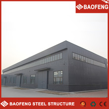mobile living heat insulated anti-corrosion prefabricated steel warehouse