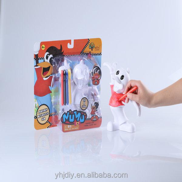 2014 best sale educational toy lucky bird DIY vinyl toy