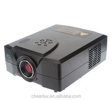 television led projector with HDMI&USB&VGA&TV&YPbPr 2200 lumens 1000:1 factory supply
