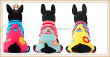 New 2015 spring and summer Thomas stripes with Bear dog Jumpsuits Rompers clothes pet jumpsuit clothing for dogs