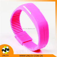 Outdoor sports Products New Gifts Cheap Kids Silicone Digital LED Adjustable Wrist Watch