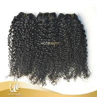 Hot Beauty Brazilian Curly 7A Brazilian Hair Weave Extention Afro Kinky Hair