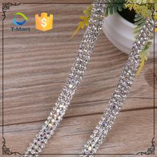 10 Yards Crystal Chain Decoration Diamante Trim/Crystal Fancy Stone Chain Rhinestone Trimmings For Dresses