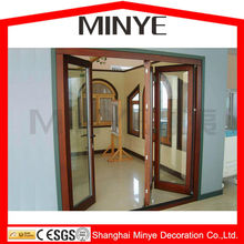 America style used bedroom furniture for sale thermal break aluminum alloy folding door with double tempered safety glass
