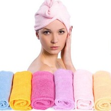 Microfiber made good absorbent Eurow Microfiber Hair Turban embroidered does not contain any chemicaling redients