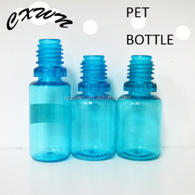 30ml PET Plastic Stopper Bottle Scrap 60ml Clear Blue Vape Oil Bottle with Childproof Tamperproof Cap