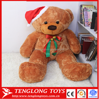 Bear Christmas Animal Toy Plush, Plush Christmas Bear Toy Stuffed Animal